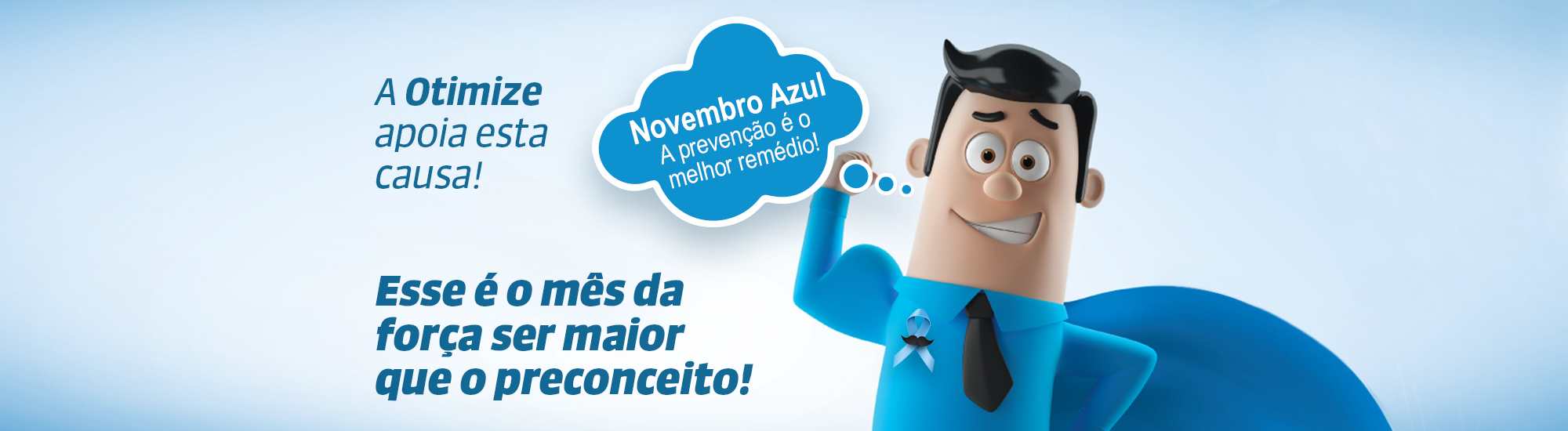 banner site OTIMIZE Novembro Azul.